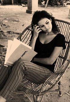 Claudia Cardinale reads.