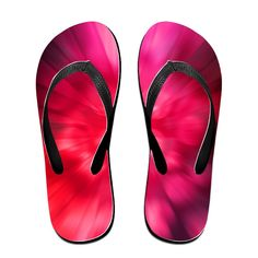Red Art Flip Flops Beach Slippers -- Check this awesome product by going to the link at the image.