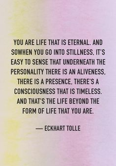 Spiritual teacher Eckhart Tolle shares the secret to inner peace, the one thing you should know about guilt, and more essential pieces of advice.