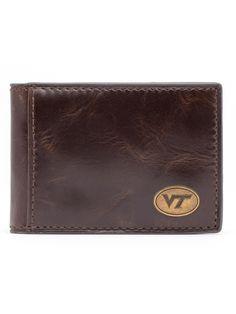 Virginia Tech Hokies Legacy Flip Bifold Front Pocket Wallet