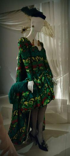 Robe Yves Saint Laurent Haute couture printemps /été 1990. Musée Yves Saint Laurent ( Novembre 2017). Photographie personnelle.