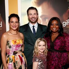 """1,724 mentions J'aime, 27 commentaires - Gifted Movie (@giftedmovie) sur Instagram : """"✨The #GiftedMovie dream team at the premiere! ✨"""""""