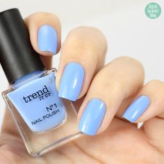 Trend it up 100 Mini Nailpolish, frischlackiert