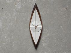 Syroco Atomic Diamond Wall Clock Converted to by ilikemikes, $239.00