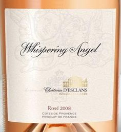 Chateau d'Esclans Cotes de Provence Whispering Angel Rose, Provence, France