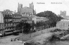 Image issue du site Web http://upload.wikimedia.org/wikipedia/commons/c/c3/Narbonne_Aude_postcard_entree_ville.jpg