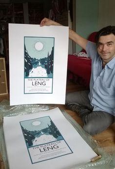 Autun Purser Illustration - 41. The Plateau of Leng