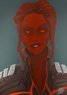 SWTOR: Red sith - inquisitor by Ehtiona