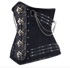 Goth Corset | Black Corsets For Halloween