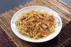 Homemade Better-Than-Takeout Chicken Chow Mein