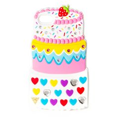 Katy Perry Birthday Cake Cover for iPhone 5, 5s and 5c | Claire's. If only I had one of those !! Case is adorable