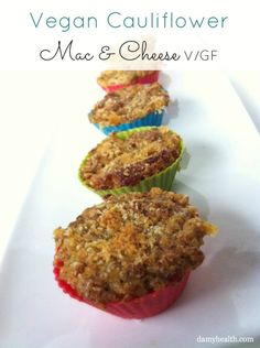 #LowCarb #Vegan Cauliflower Mac & Cheese #glutenfree Plus a list of more awesome cauliflower recipes http://www.damyhealth.com/2013/04/the-best-healthy-cauliflower-recipes/