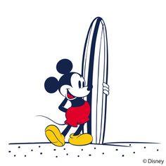 「スペシャル プロダクト デザイン(SPECIAL PRODUCT DESIGN)」がウォルト・ディズニー・ジャパンと協業し、ビーチ&サーフスタイルを提案するライン「SURF MICKEY」を展開する。 Mickey Mouse Drawings, Mickey Mouse Art, Mickey Mouse And Friends, Disney Nerd, Walt Disney, Epic Mickey, Disney Illustration, Disney Coloring Pages, Disney Pictures
