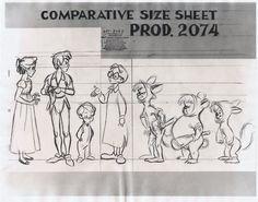 Amazing Milt Kahl Drawings, fromAndreas Deja's blog.