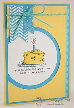 Giggle Greetings Birthday - My First Blendabilities Coloured Card! - The Crafty Owls Blog