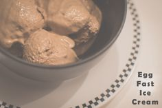 Easy Egg Fast Low-Carb Ice Cream Recipe