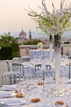 Wonderful White Wedding!  www.treschic.nl