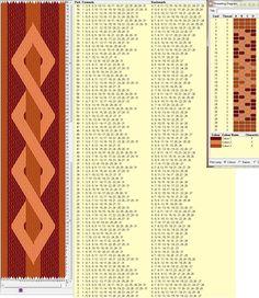 Dubbele helix. 31 ontwerp kaarten, drie kleuren - Doble hélice. Diseño 31 tarjetas, 3 colores