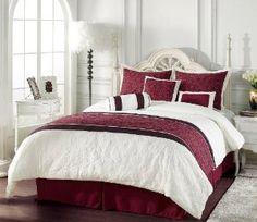 Very pretty!! #bedding #bedsets #comforters #bedroom #homedecor #bedinabag