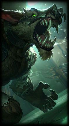 League of Legends- Feral Warwick