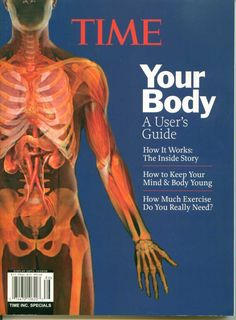 Time Your Body Users Manual Book Anatomy DNA Skin Mind Time Home Entertainment $5.00
