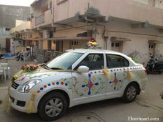 Beautifull car decotaion ahmedabad httpfloretmart car decoration ahmedabad httpfloretmart junglespirit Image collections