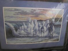 See Sally Sew-Patterns For Less - The Wave Horses Running Through Beach Ocean Cross Stitch Dimensions 35026 Kit , $29.99 (http://stores.seesallysew.com/the-wave-horses-running-through-beach-ocean-cross-stitch-dimensions-35026-kit/)