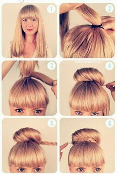 LadySpace: Hairstyle for school