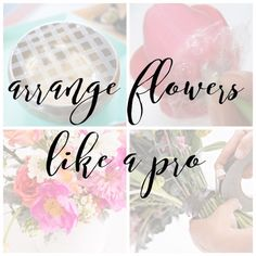 Do you love fresh flowers but don't feel so confident in your flower arranging skills? Well these tips and tools will have you arranging flowers like a pro.