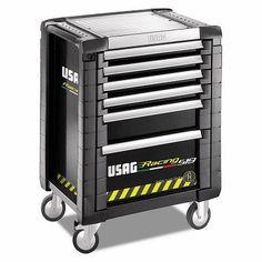 Carrello Racing Usag - 5 cassetti (vuoto) 519 R5/3V