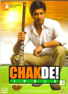 this was the first Bollywood that JB and I watched together. My introduction to Shah Rukh Khan. I loved the positive message for women in this film. Chak De India, Srk Movies, King Of Hearts, Never Sleep, Positive Messages, Shahrukh Khan, Great Movies, Actors & Actresses, Movie Tv