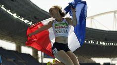 Nantenin KEITA championne paralympique 400m T3 Rio 2016