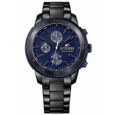 Relógio Tommy Hilfiger Masculino Aço Preto - 1791190