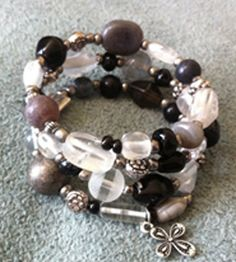 Sparkly bead bracelet