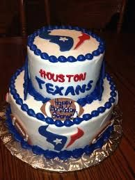 Aidans 6th Texans Football Birthday cake Cake decorating