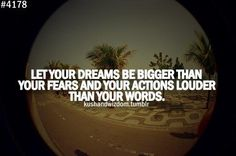 Bigger than your fears.
