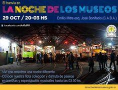 CRÓNICA FERROVIARIA: La Noche de los Museos en el Taller Polvorín