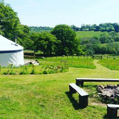 Kite Yurt @Fron Farm Yurt Retreat