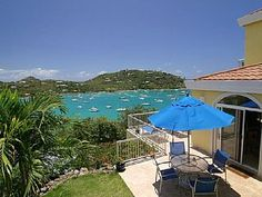 Luxurious vacation villa with the most breath taking view over looking the popular Westin Resort St. John and the beautiful Great Cruz Bay beach & harbor. The Modern Caribbean Architecture incorporates native ...