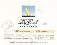 2015 Dry Creek Vineyard Dry Chenin Blanc Clarksburg 750 ml Wine *** Click image to review more details.