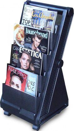 Dina Meri Magazine Rack for Salon's and Spa's + FREE Shipping on all Salon Equipment! $133.00 #beautysupply #hair #salon @ ProHairTools.com