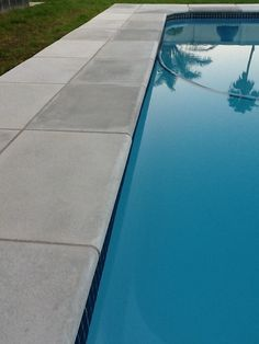 Random Straight Edge Paver Outdoor Spaces, Outdoor Living, Outdoor Ideas, Swimming Pool Designs, Swimming Pools, Backyard Patio, Backyard Ideas, Pool Remodel, Pool Coping