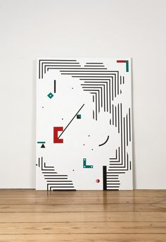 Tokae Painting Abstract Nr. 2 Year: 2014 Size: 1m x 1,4m
