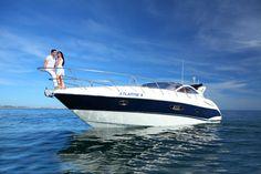 Algarve Luxury Yacht Charter with Champagne Cruises Vilamoura Marina , Portugal .