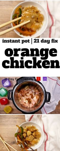 Get your Chinese Food fix with this Instant Pot Orange Chicken recipe. 21 Day Fix Orange Chicken with container counts. 10 Smart Points Dinner Recipe. Weight Watchers Orange Chicken   WW Orange Chicken   Weight Watchers Chinese Food   Weight Watchers Dinner Recipe via @bludlum