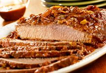 Slow-Cooked Carolina Beef Brisket - FamilyTime.com -