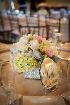 Chelsey & Jared on Borrowed & Blue.  Photo Credit: Casey Durgin Photography. Flowers. Laurie Andrews Design