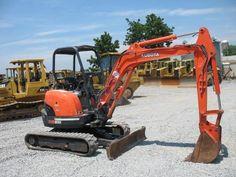 Kubota Mini Excavators    http://www.rockanddirt.com/equipment-for-sale/KUBOTA/excavators-mini