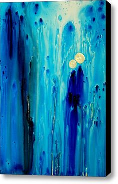 Never Alone Stretched Canvas Print / Canvas Art By Sharon Cummings