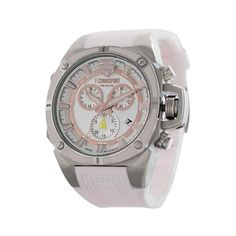 Technosport TS-100-S88 Women's Watch Light Pink Strap Swiss Chronograph Movement